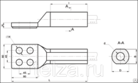 Аппаратный зажим А4А-700-Т