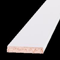 Добор 150х10х2100мм ламинированный Белый