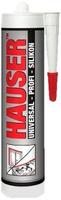 Герметик Hauser U универсальный силиконовый прозрачный 260 мл. 1уп=12шт
