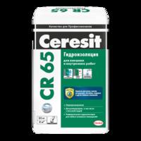 Гидроизолирующая масса Церезит СR 65 жесткая 5 кг 1уп=4шт