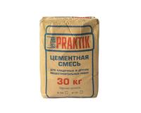 Смесь Praktik цементная универсальная с полимерными добавками ЗИМНЯЯ, 30 кг