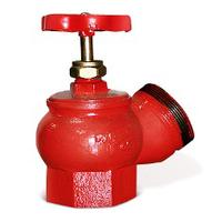 Клапан (вентиль) угловой пожарный КПЧ