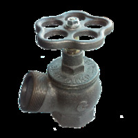 Клапан (вентиль) угловой пожарный РПТК