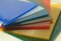 Лист полимер, кв.м 0.45 ПЭ RAL5005 сигнально-синий