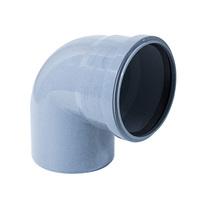 Отвод канализационный 15 градусов 110x94