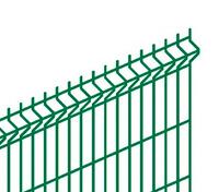 Панель DFence Эконом V3 2695*1740 яч.50х235 4мм Zn+ПП RAL6005 б/вырезов