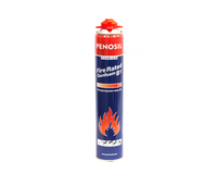 Пена монтажная ПРОФ Penosil Gunfoam В1 огнеупорная 720мл/930гр 1уп=12шт