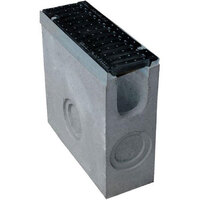 Пескоуловитель пластиковый DN 100 L500xH160xB419