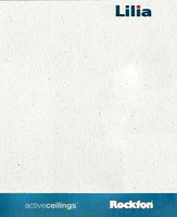 Потолочная панель Rockfon Lilia 12мм 1уп=28 шт NEW