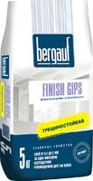 Шпаклевка гипсовая финишная Finish Gips 5кг Bergauf 1уп=6шт