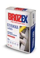 Ровнитель для пола Brozex NF-40 СТЯЖКА базовая 25кг 1уп= 48шт