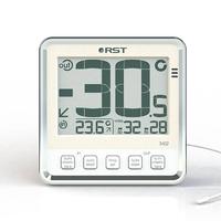 Термометр цифровой для пластиковых и деревянных окон (термометр, ice alert, индикатор состояния батареи) цвет слоновая кость