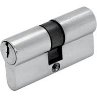 Цилиндр DIN ключ/ключ (30+30) S 60 Cr хром Шлосс