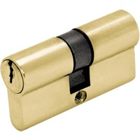 Цилиндр DIN ключ/ключ (30+30) S 60 M золото Шлосс