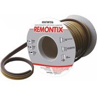 Уплотнитель самоклеящийся Remontix D50 черный, 21х15мм