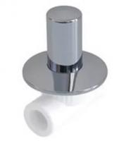 Вентиль полипропиленовый Хромированный люкс 20 мм